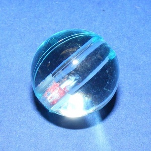 Akril gyöngy-22 (1 db) - világoskék gömb (csimbo) - Meska.hu