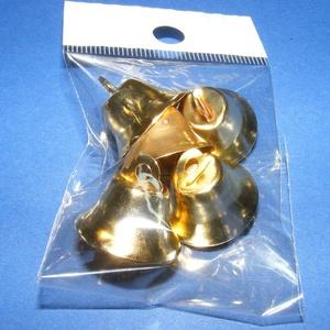 Harang (20x12 mm/5 db) - arany (csimbo) - Meska.hu