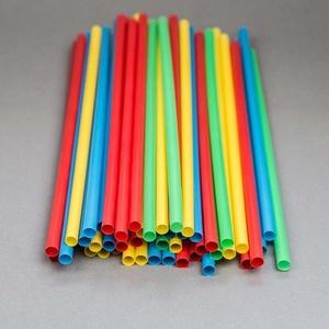 Szívószál (500 db/csomag) - 4 szín, Vegyes alapanyag,  Szívószál - 4 színben (piros, sárga, zöld, kék) - vastag  Mérete: Ø 8 mmHossza: 24 cm  Kiszerelés: ..., Meska