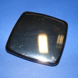 Tükör (4. minta/1 db) - íves négyzet, Vegyes alapanyag,  Tükör (4. minta) - szétnyitható - íves négyzet  Mérete: 70x70 mmAnyaga: fém  Az ár egy darab termék..., Meska
