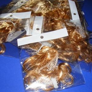 Babahaj (kb. 10 cm) - aranyszőke, Dekorációs kellékek, Figurák,  Babahaj - aranyszőke  Báb és babakészítéshez ajánlott haj    A csomag tartalma: kb. 10 cm hosszú ..., Meska