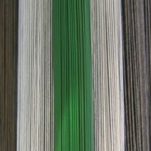 Zöld vágott drót (Ø 1,0 mm/5 szál) - 55 cm (csimbo) - Meska.hu