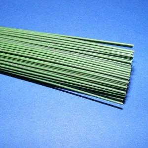 Zöld vágott drót (Ø 1,2 mm/5 szál) - 55 cm (csimbo) - Meska.hu