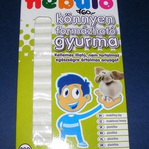 Nebuló gyurma (200 g) - natúr, Vegyes alapanyag, Gyurma, \nGyurma (200 g) - natúr (fehér)\n\nKönnyen formázható, kellemes illatú gyurma. Gyermekbarát, egészségr..., Meska