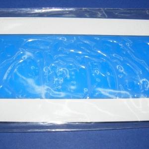 Viaszlap (175x80 mm) - kék, Vegyes alapanyag, Gyertya, Gyertyaöntés, \n\n\nGyertyafólia viaszlap - kék\n\nMérete: 175x80 mm\nAz öntapadós, vékony viaszfólia \r\nsegítségével elk..., Meska