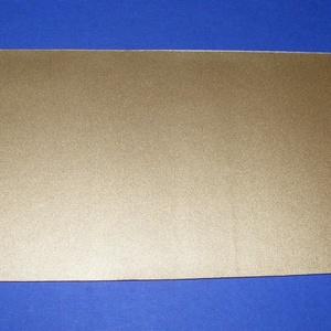 Viaszlap (20x10 cm) - arany (csimbo) - Meska.hu