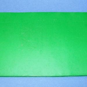 Viaszlap (20x10 cm) - zöld (csimbo) - Meska.hu