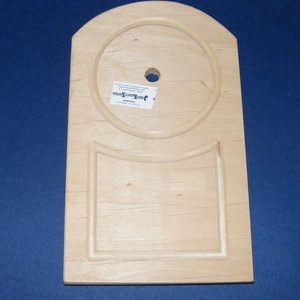 Fa óralap (11x18,5 cm/1 db) - boltíves (csimbo) - Meska.hu
