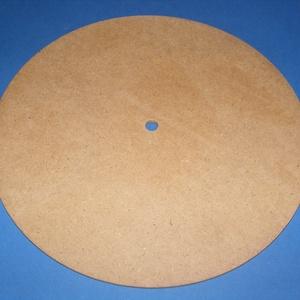 MDF fa óralap (Ø 25 cm/1 db) - kerek, Órakészítés, Óralapok,  Fa óralap - kerek    Mérete: Ø 25 cmAnyaga: natúr MDF lapAnyagvastagság: 6 mm Az ár egy darab ter..., Meska