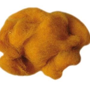 Festett gyapjú (50 g) - narancssárga (csimbo) - Meska.hu
