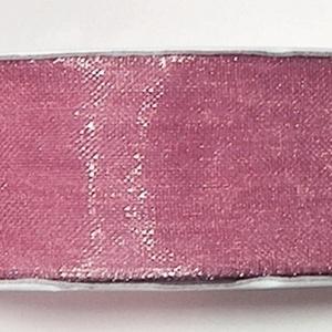 Organzaszalag (68. minta/1 m) - mályva, Textil, Varrás,  Organzaszalag (68. minta) - mályva   Organza szövetből készült szalag, jó tartású csomagolóanyag k..., Alkotók boltja