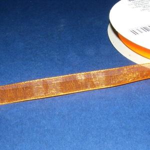 Organzaszalag (71. minta/1 m) - narancssárga (csimbo) - Meska.hu