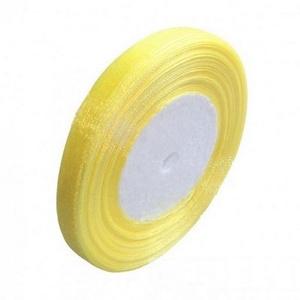 Organzaszalag (75. minta/1 m) - citromsárga (csimbo) - Meska.hu