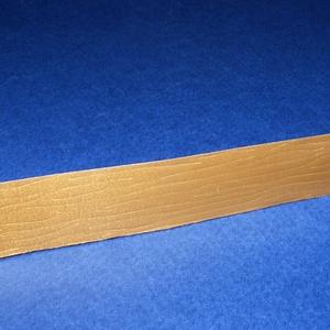 Kötözőszalag (20 mm/1 m) - arany famintás (csimbo) - Meska.hu
