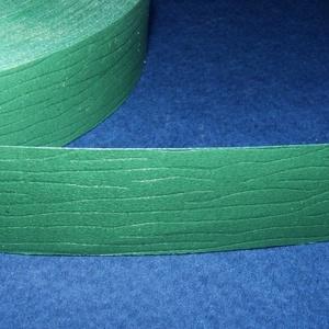 Kötözőszalag (20 mm/1 m) - fenyőzöld famintás (csimbo) - Meska.hu
