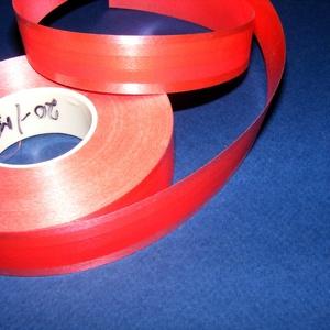 Kötözőszalag (20 mm/1 m) - piros csíkos (csimbo) - Meska.hu
