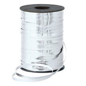 Kötözőszalag (5 mm/10 m) - metál ezüst, Textil, Varrás, \nKötözőszalag - metál ezüst\n\nElsősorban virágkötészetben használt alapanyag. Erős, nagy szakítószilá..., Meska