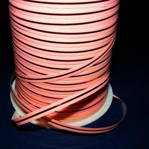 Kötözőszalag (5 mm/10 m) - rózsaszín/arany (csimbo) - Meska.hu