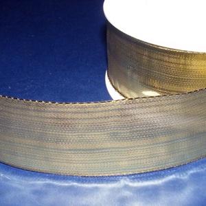 Szalag (35. minta/1 m) - metál arany (csimbo) - Meska.hu