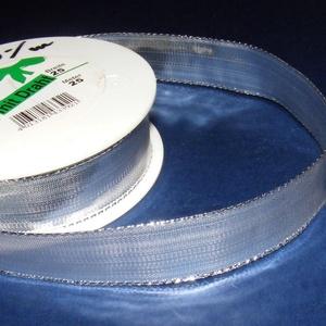 Szalag (36. minta/1 m) - metál ezüst (csimbo) - Meska.hu