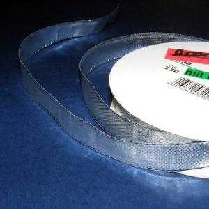 Szalag (37. minta/1 m) - metál ezüst, Textil, Varrás, \n\n\nDekorszalag (37. minta) - metál ezüst - dróttal\n\nJó tartású csomagolóanyag kiváló minőségben. Ajá..., Meska