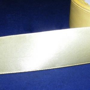 Szaténszalag (10. minta/1 m) - vanília (csimbo) - Meska.hu