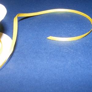 Szaténszalag (116. minta/1 m) - citromsárga (csimbo) - Meska.hu