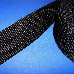 Gurtni (25 mm/1 m) - fekete - Meska.hu