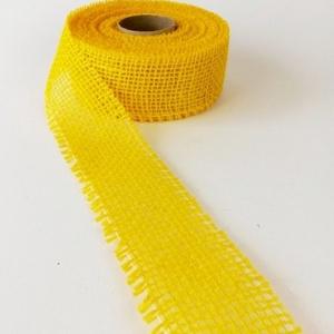 Jutaszalag (1 m) - citromsárga (csimbo) - Meska.hu