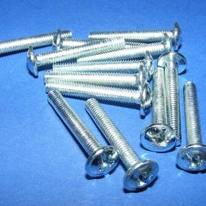 Csavar-10  (27x4 mm/10 db) - ezüst (csimbo) - Meska.hu
