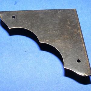 Fémsarok (20. minta/1 db) - 39x39 mm (csimbo) - Meska.hu