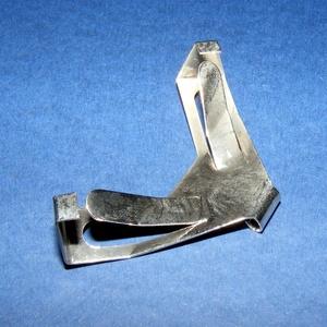 Kapcsos képrögzítő (K78. minta/1 db) - antik ezüst (csimbo) - Meska.hu