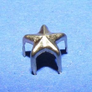 Fém szegecs (6. minta/1 db) - csillag (csimbo) - Meska.hu
