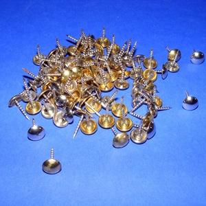 Szög-5 (kárpitosszög/10 db) - arany/ezüst (csimbo) - Meska.hu