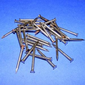 Szög-4 (25x2 mm/20 db) - nikkel (csimbo) - Meska.hu