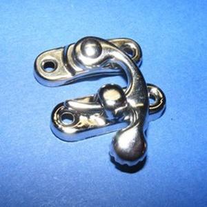 Doboz csat (5. minta/1 db) - ezüst (csimbo) - Meska.hu
