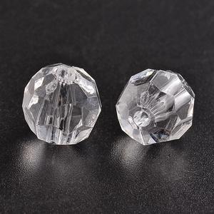 Akril gyöngy-46 (1 db) - átlátszó gömb, Gyöngy, ékszerkellék,    Akril gyöngy-46 - gömb - átlátszó  Mérete: 12 mmFurat mérete: 2 mm  Az ár 1 darab termékre vonatk..., Meska