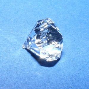 Akril gyöngy-49 (1 db) - átlátszó kristály (csimbo) - Meska.hu