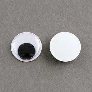 Rezgőszem (8 mm/1 db) - kerek, Dekorációs kellékek, Figurák,  Rezgőszem - ragasztható - kerek  Mérete: 8 mm Többféle méretben rendelhető.Az ár egy darab termékre..., Meska