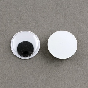 Rezgőszem (7 mm/20 db) - kerek, Dekorációs kellékek, Figurák,  Rezgőszem - ragasztható - kerek  Mérete: 7 mmMagassága: 3 mm Többféle méretben rendelhető.Az ár 20 ..., Meska
