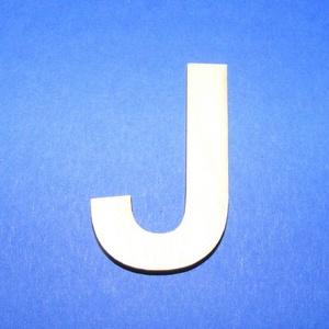Fa betű (45x35 mm/1 db) - J, Fa,  Fa betű - J    Mérete: 45x35 mmAnyaga: natúr rétegelt lemezAnyagvastagság: 3 mm Az ár egy darab t..., Meska