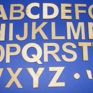 Fa betű (45x35 mm/1 db) - R (csimbo) - Meska.hu