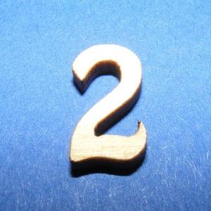 Rusztikus fa szám (15x10 mm/1 db) - 2, Fa, Egyéb fa, \nRusztikus fa szám - 2\n\r\n\r\n\nMérete: 15x10 mmAnyaga: rétegelt lemezAnyagvastagság: 3 mm\nAz ár egy ter..., Meska