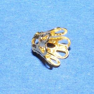Gyöngykupak (31. minta/4 db) - 7 mm - gyöngy, ékszerkellék - egyéb alkatrész - Meska.hu