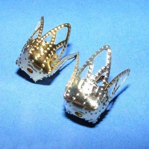 Gyöngykupak (40/A minta/1 db) - 18x15 mm (csimbo) - Meska.hu