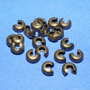 Stopper rejtő (1069. minta/20 db) - 4x3 mm  (csimbo) - Meska.hu