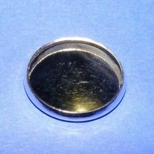 Ékszer alap (178/A minta/1 db), Gyöngy, ékszerkellék,  Ékszer alap (178/A minta) - kerek - ezüst színben  Mérete: 20 mmA belső mérete: 18 mmAz alapba a 90..., Meska