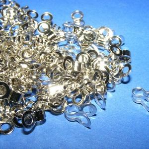 Szemes golyósláncvég (340/L minta/1 db) - 4,5 mm, Gyöngy, ékszerkellék,  Szemes golyósláncvég (340/L minta) - nikkel színben   Mérete: 4,5 mm  Az ár egy darab termékre vona..., Meska