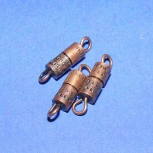 Csavaros kapocs (341/F minta/1 db) - 9x4 mm (csimbo) - Meska.hu
