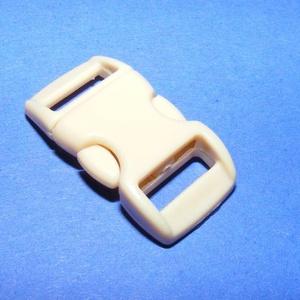 Műanyag kapocs-11 (10 mm/1 db) - drapp (csimbo) - Meska.hu